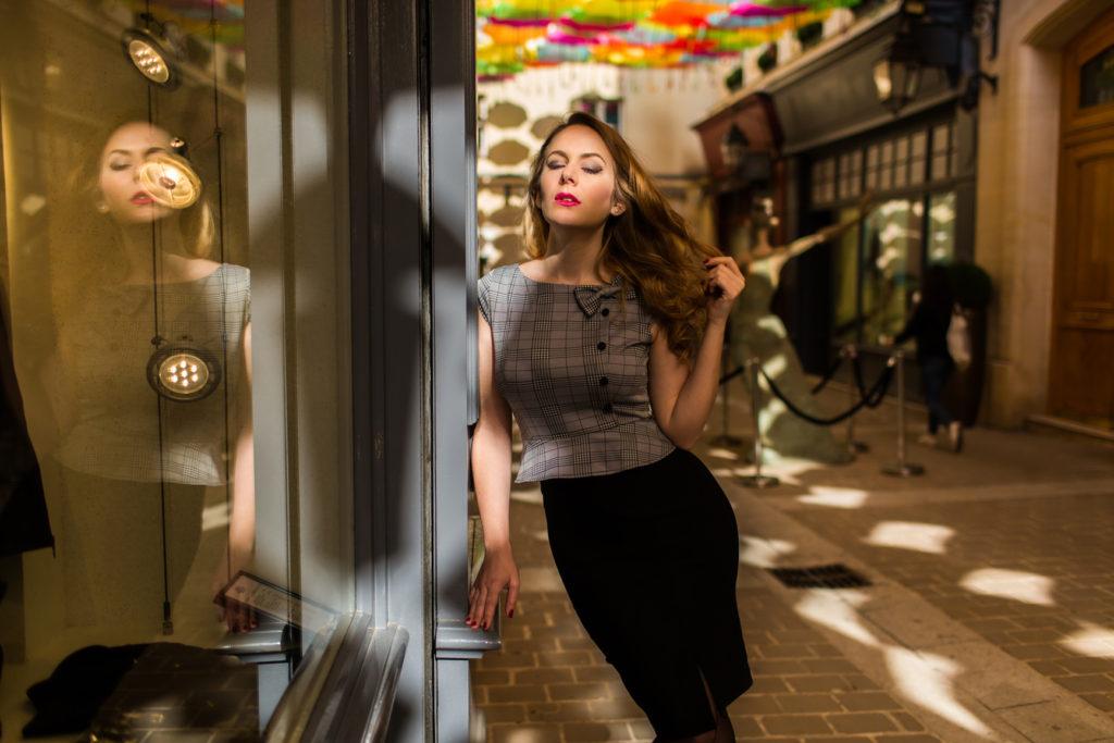 Bellepoque - robe années 50 - inspiration pin-up