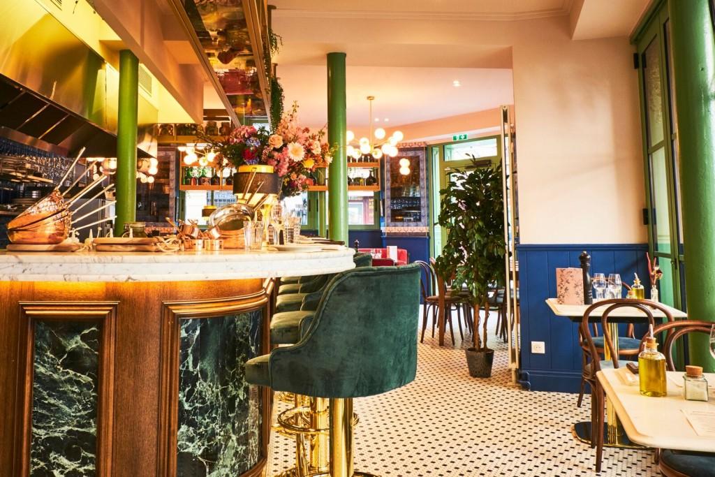 Brasserie Bellanger - belle brasserie parisienne