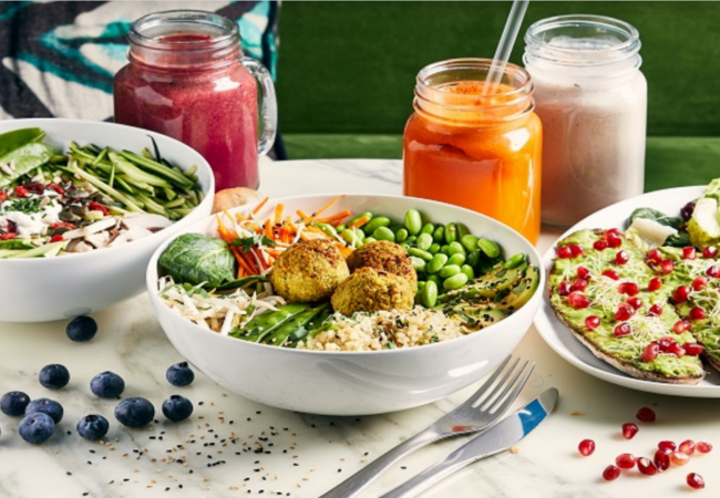 DS Café – nouveaux menus healthy- vegan, sportif , antioxydant – UBEREATS