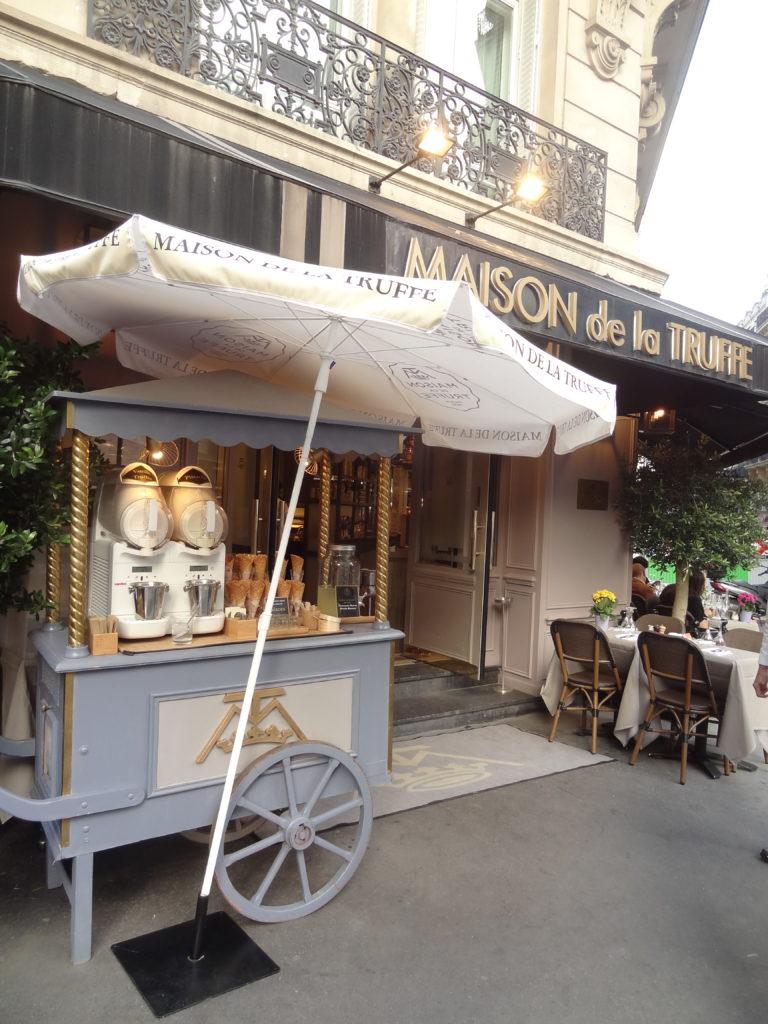 Maison de la Truffe – Paris Marbeuf – apéritif chic