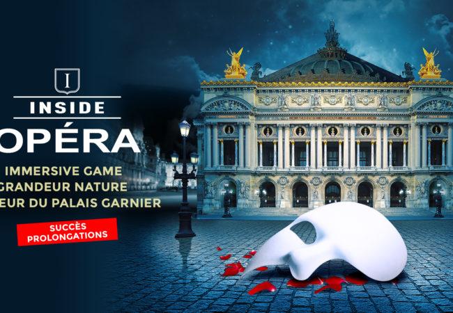 Inside Opéra – Escape Game au cœur du Palais Garnier