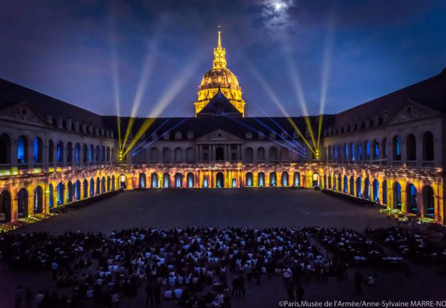 La Nuit aux Invalides – spectacle monumental – Lutèce 3000 ans d'histoire