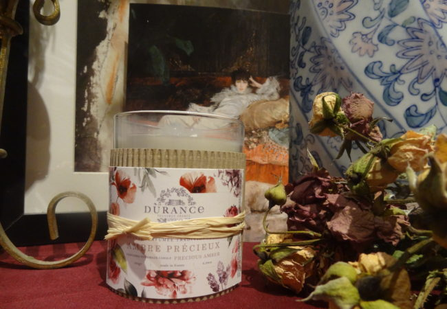 Durance – bougies parfumées – collection anniversaire