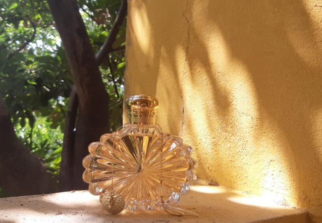 Soleil – parfum Lalique – nouvelle fragrance féminine – Vessière Cristaux