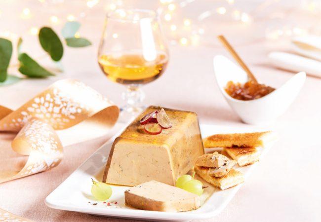 Comtesse du Barry – repas de fêtes – foie gras
