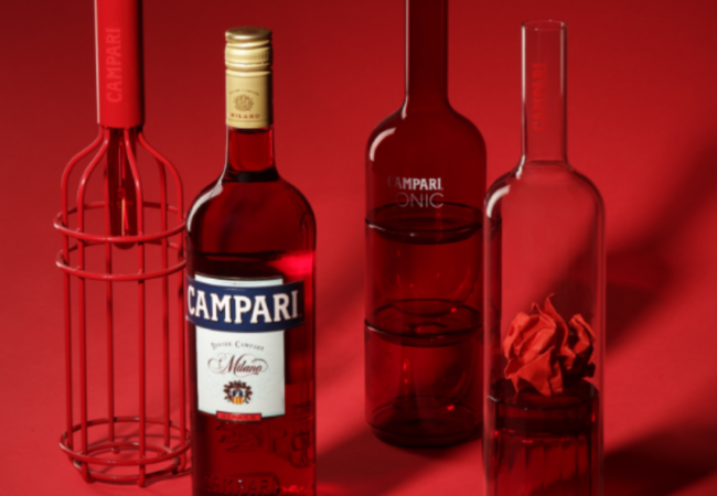 Coffret Collector Campari – le bitter italien rouge