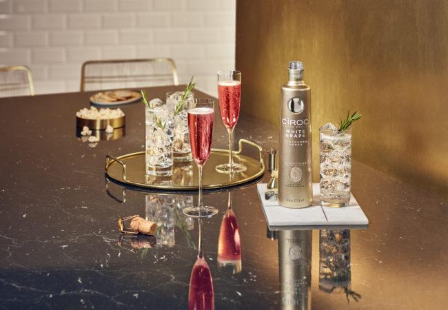 Cîroc White Grape – vodka à base de raisins français – édition limitée