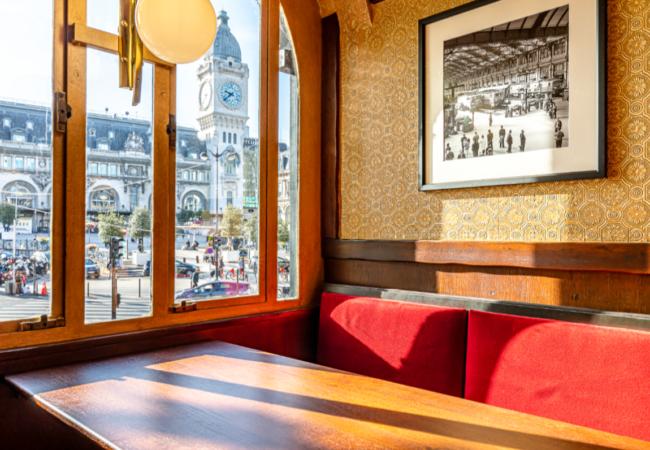 Le Bistrot de la Gare – brasserie gourmande et élégante – Gare de Lyon