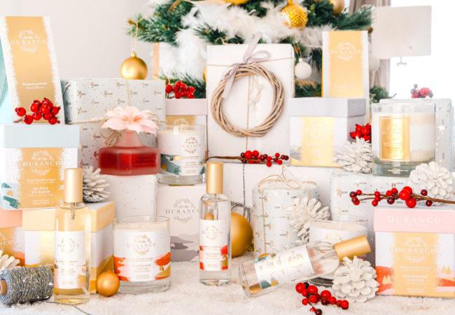 Durance – calendrier de l'avent – collection de Noël – bougies parfumées