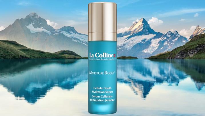 La Colline Swiss Riviera Beauty Treatment – la gamme Moisture Boost++