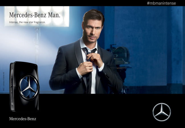 Mercedes-Benz Man Intense – nouveau parfum High Tech