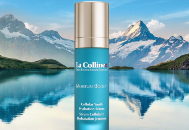 La Colline Swiss Riviera Beauty Treatment – la gamme Moisture Boost++