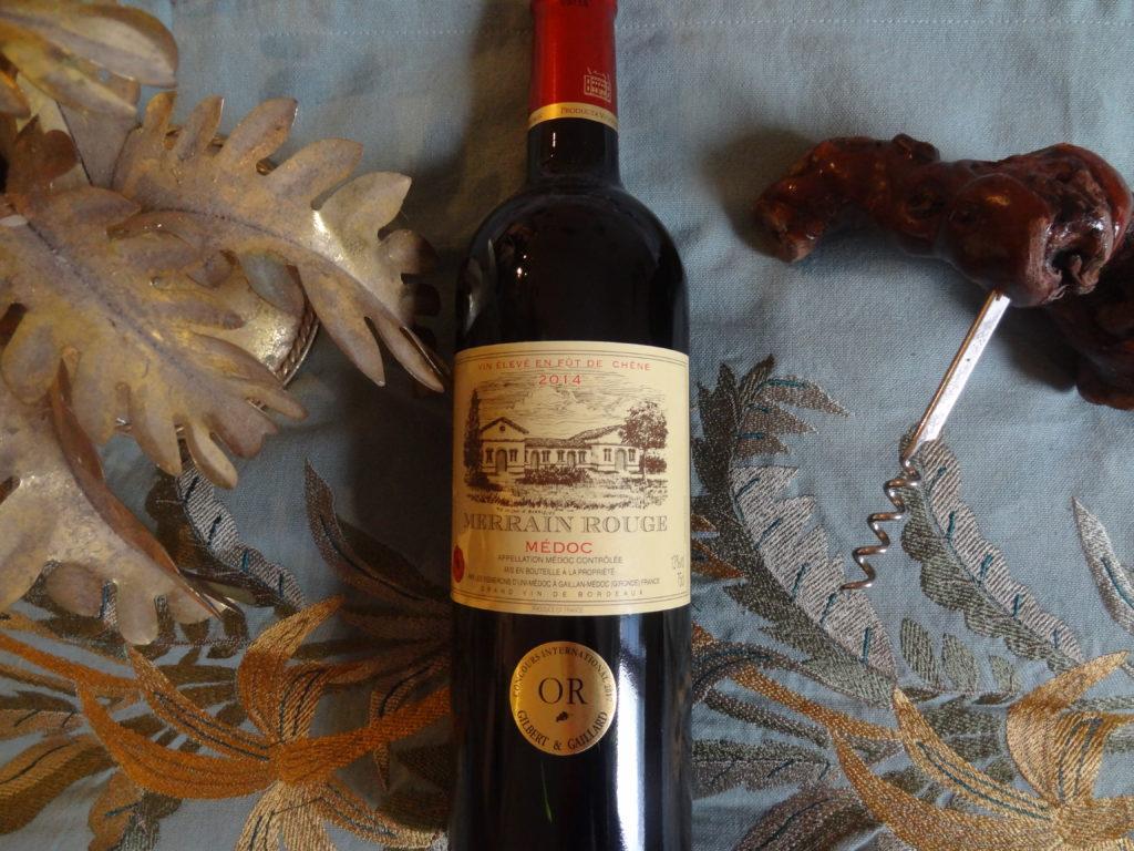 Un vin festif venu du Médoc - Merrain rouge - Producta Vignobles