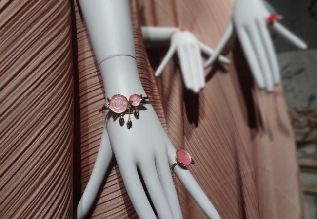 Lalique – collection de bijoux pivoine et muguet – Botanica