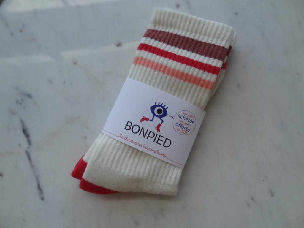 Bon Pied – chaussettes trendy et solidaires