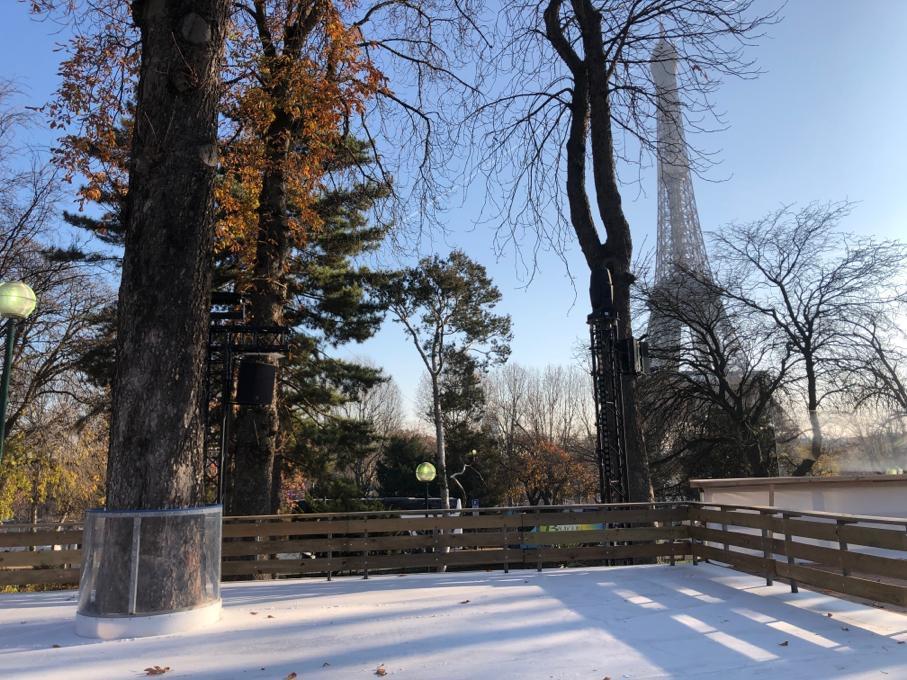 Ambiance « after ski » aux Jardins du Trocadéro – patinoire et apéro