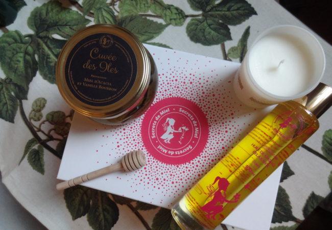 Secrets de Miel – coffret Saint-Valentin – les trésors de la ruche
