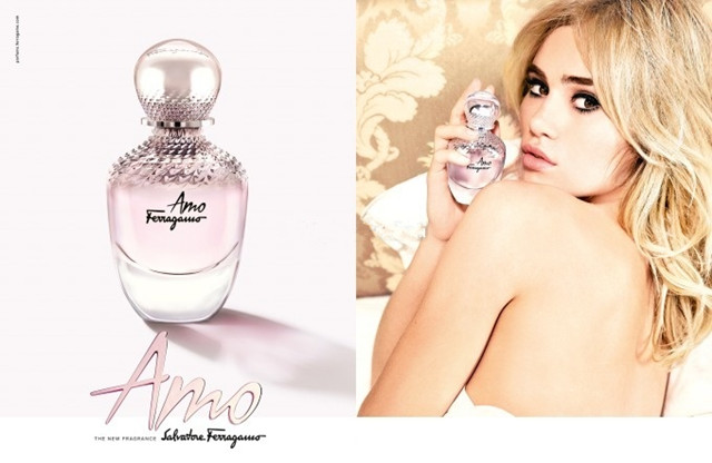 AMO, le nouveau parfum féminin de Salvatore Ferragamo