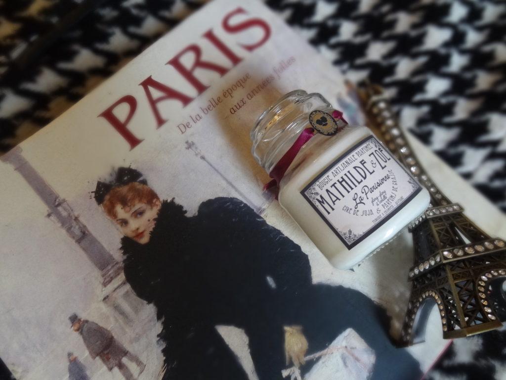 Mathilde et Zoé – bougies en cire végétale de soja – parfums de Grasse
