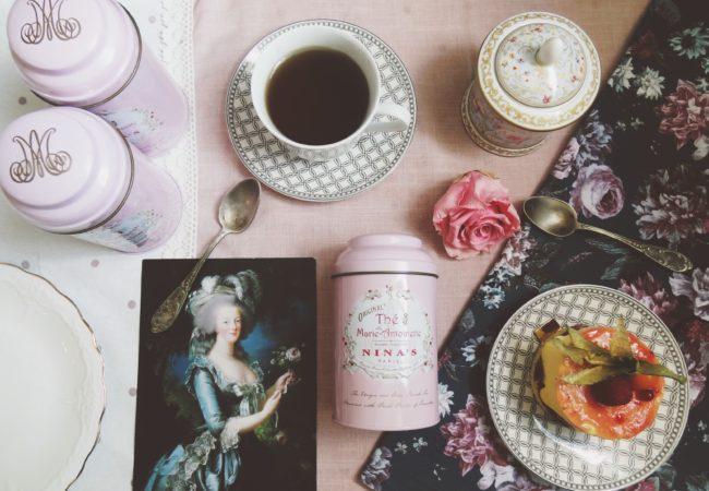 Nina's Marie Antoinette – Thé royal de Versailles