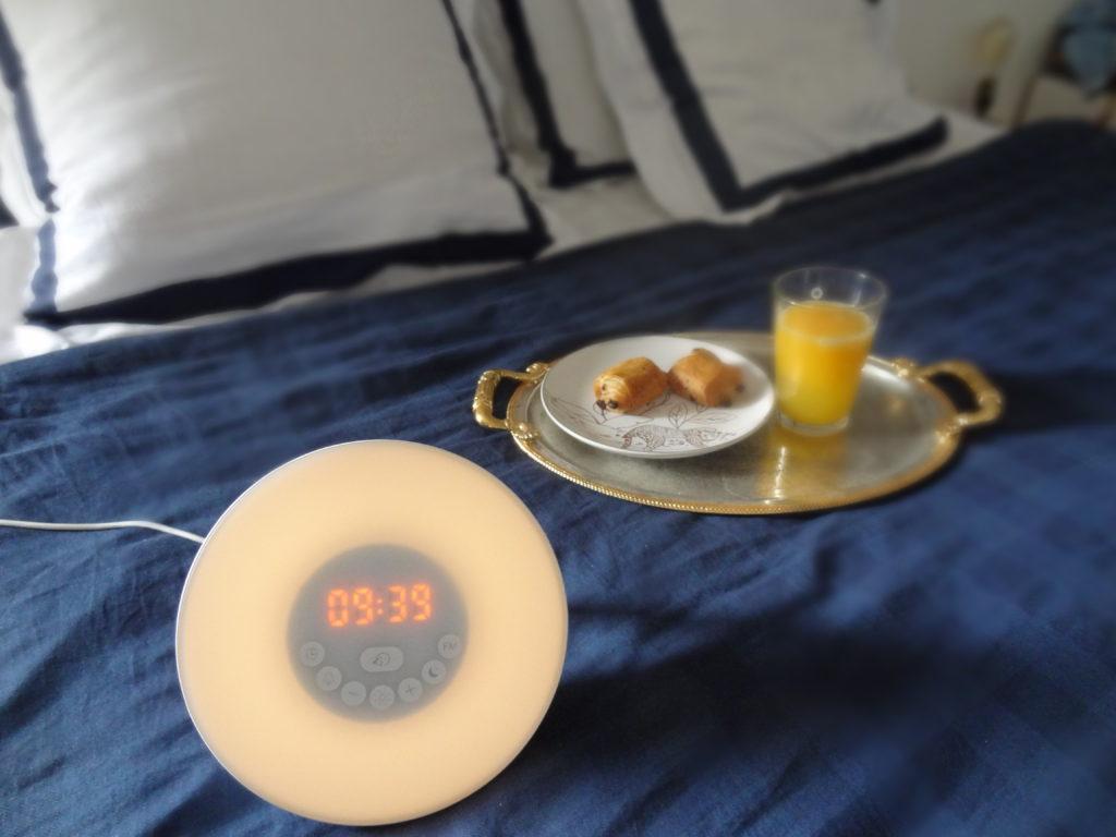 Top Life – le réveil lumineux simulateur d'aube – se réveiller en douceur