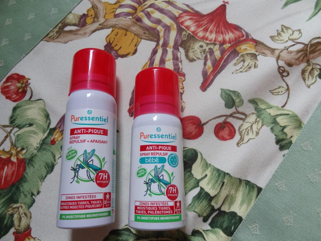 Puressentiel – une gamme de produits anti-moustiques d'origine végétale