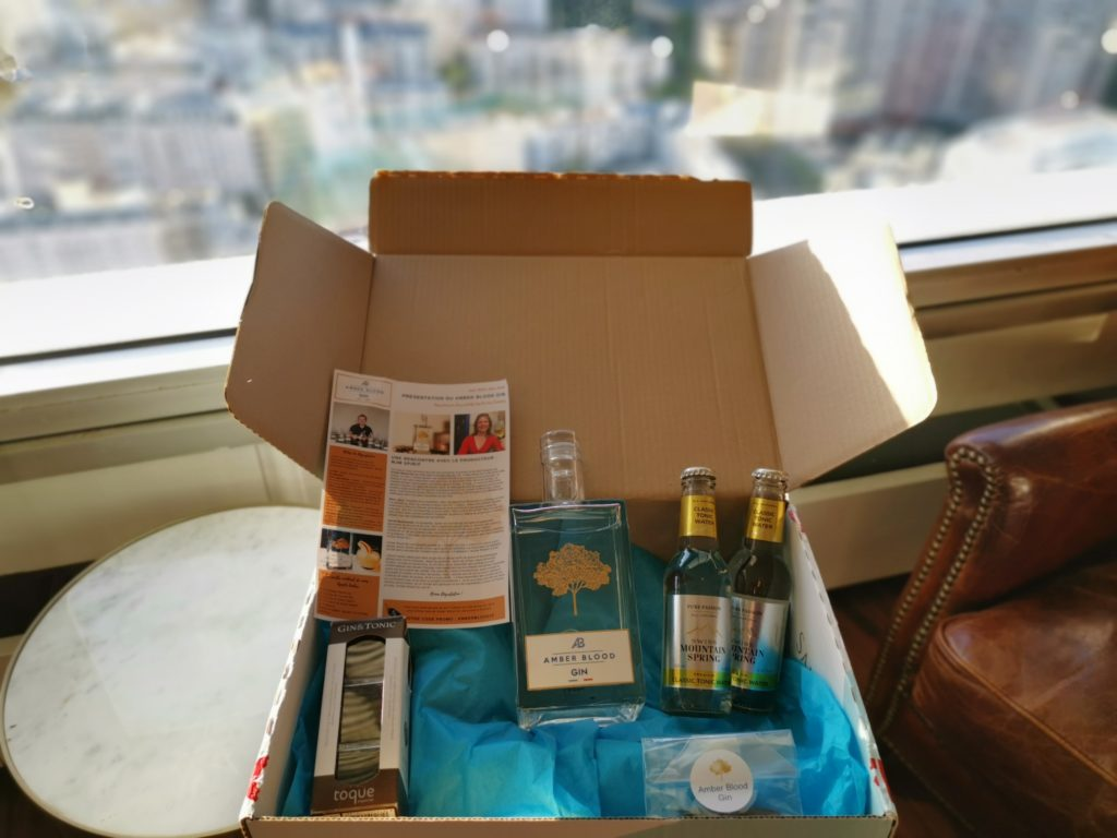 Ginsations - la box surprise des amateurs de Gin