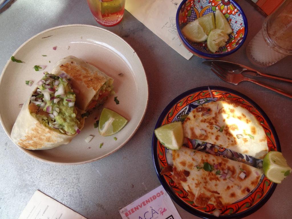 ACÀ Pigalle – restaurant mexicain contemporain – Tacos, burros et quesadillas