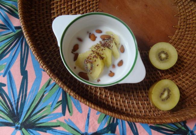 Les kiwis Zespri et leur collaboration avec l'artiste parisienne Oelwein – petits déjeuners vitaminés