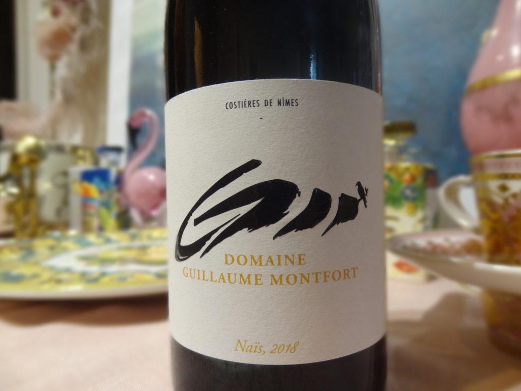 Costières de Nîmes, Domaine Guillaume Montfort, Cuvée Naïs - un vin rouge élégant