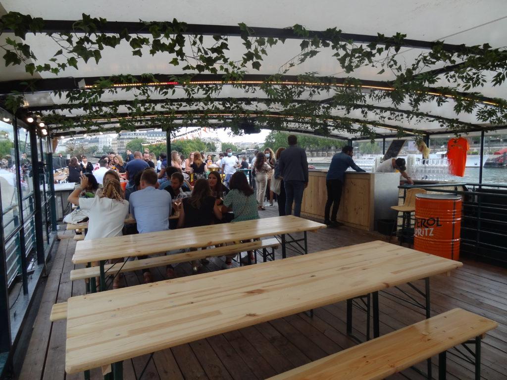 La Boumette - croisière festive sur la Seine tout l'été - Péniche River's King