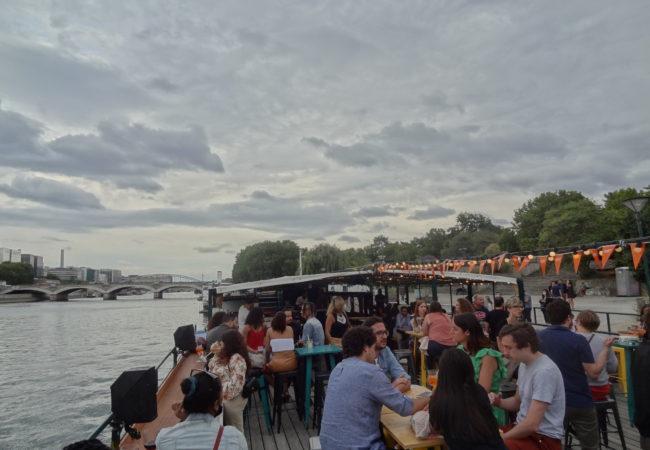 La Boumette – croisière festive sur la Seine tout l'été – Péniche River's King