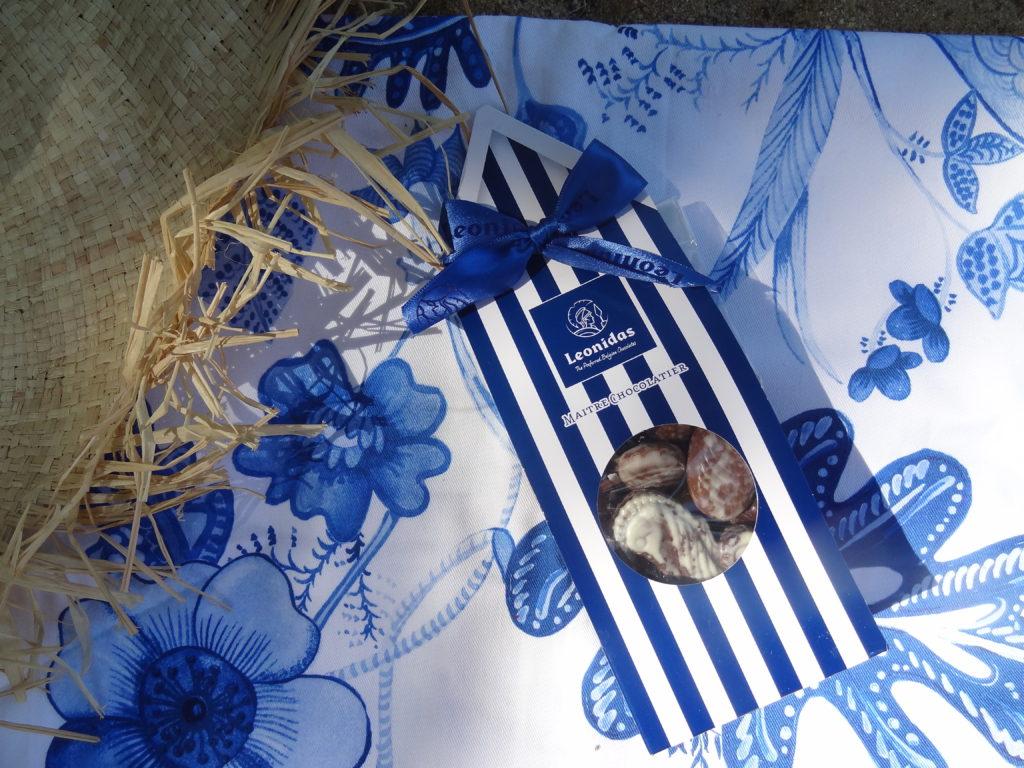Leonidas - les Fruits de Mer en chocolat