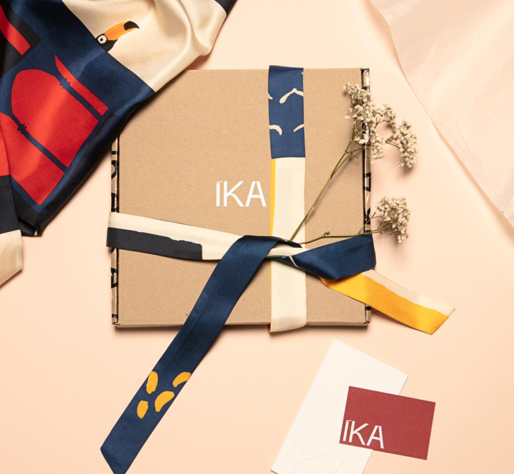 Ika Paris - des pièces en soie chics, colorées et impertinentes