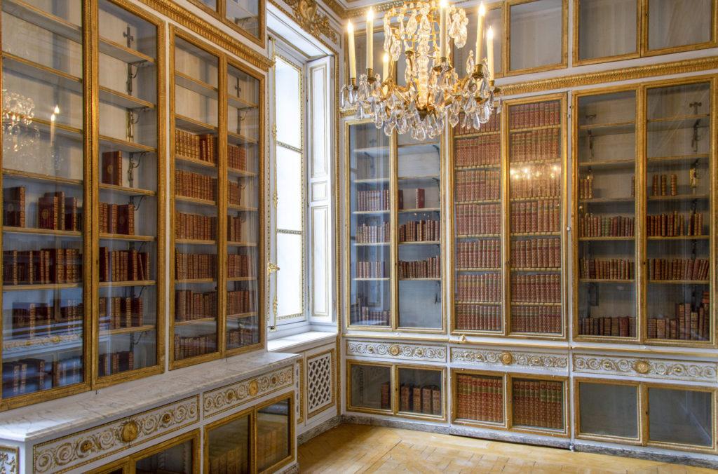 Cabinets intérieurs de la reine - bibliothèque de Marie Antoinette - Château de Versailles