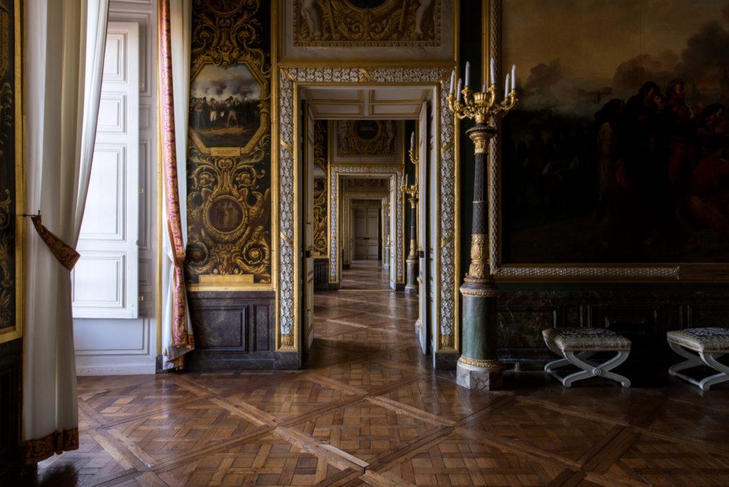 Salles Empire - Napoléon à Versailles