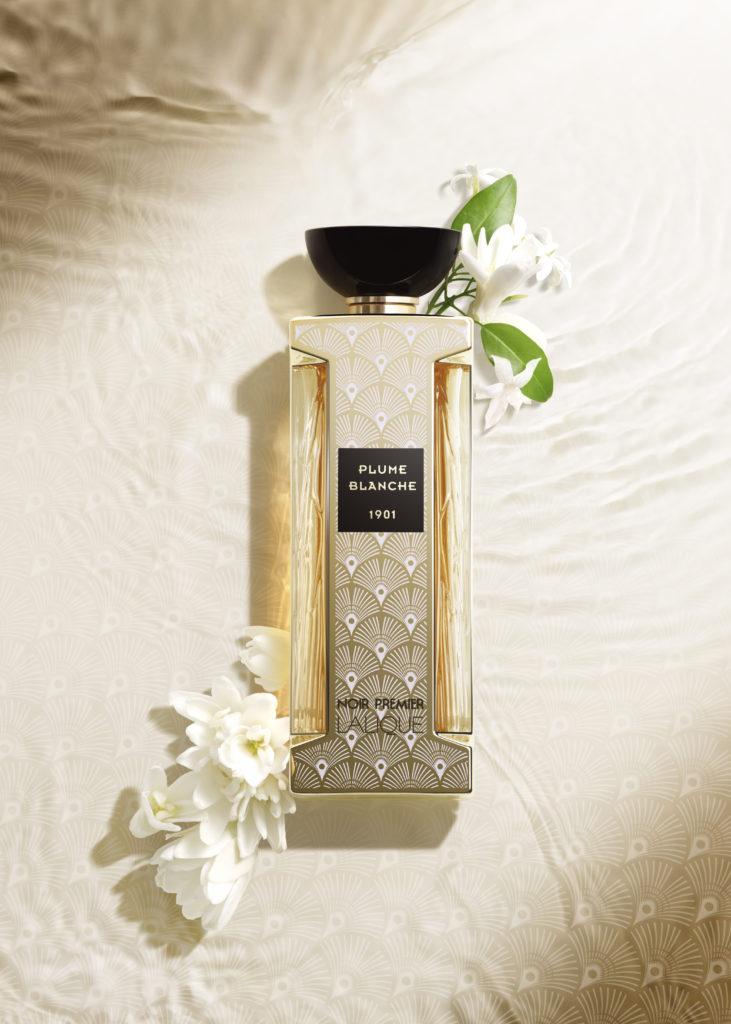 Lalique - la nouvelle fragrance Plume Blanche - collection Noir Premier