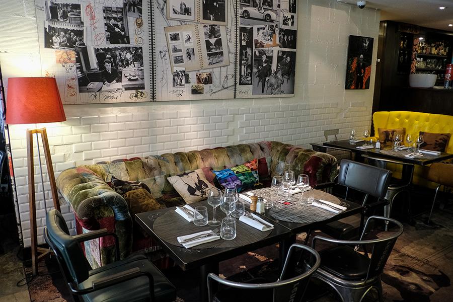 Renoma Café Gallery – bistrot parisien ambiance street art new-yorkais