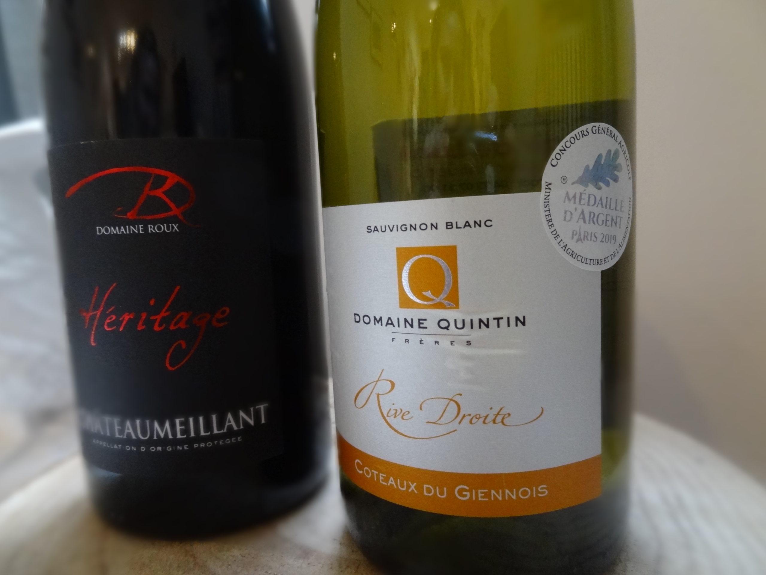 Sélection de vins du Centre-Loire