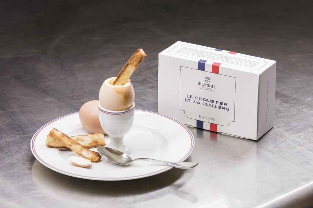 Maison Degrenne et Elysée – une collaboration exclusive pour une table bleu blanc rouge !