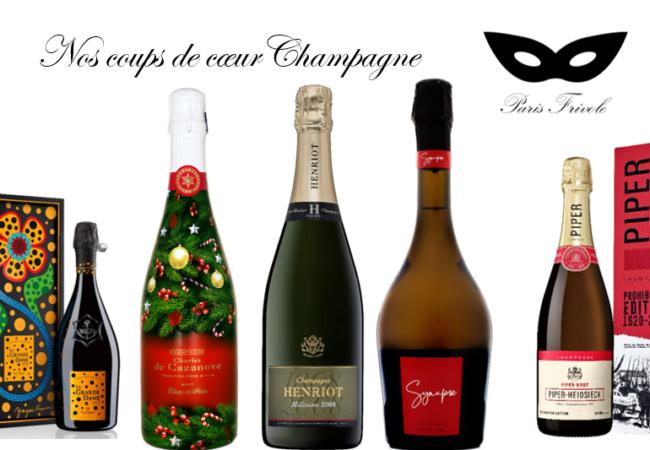5 merveilleux champagne à déguster pendant les Fêtes de fin d'année