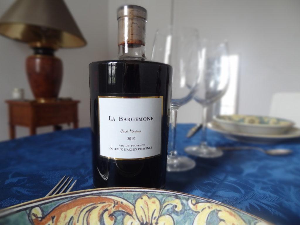Commanderie de la Bargemone – vins de Provence – cuvée Marina