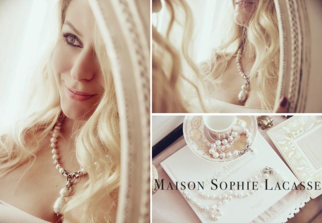 Maison Sophie Lacasse – des bijoux baroques et féminins – inspiration Marie Antoinette