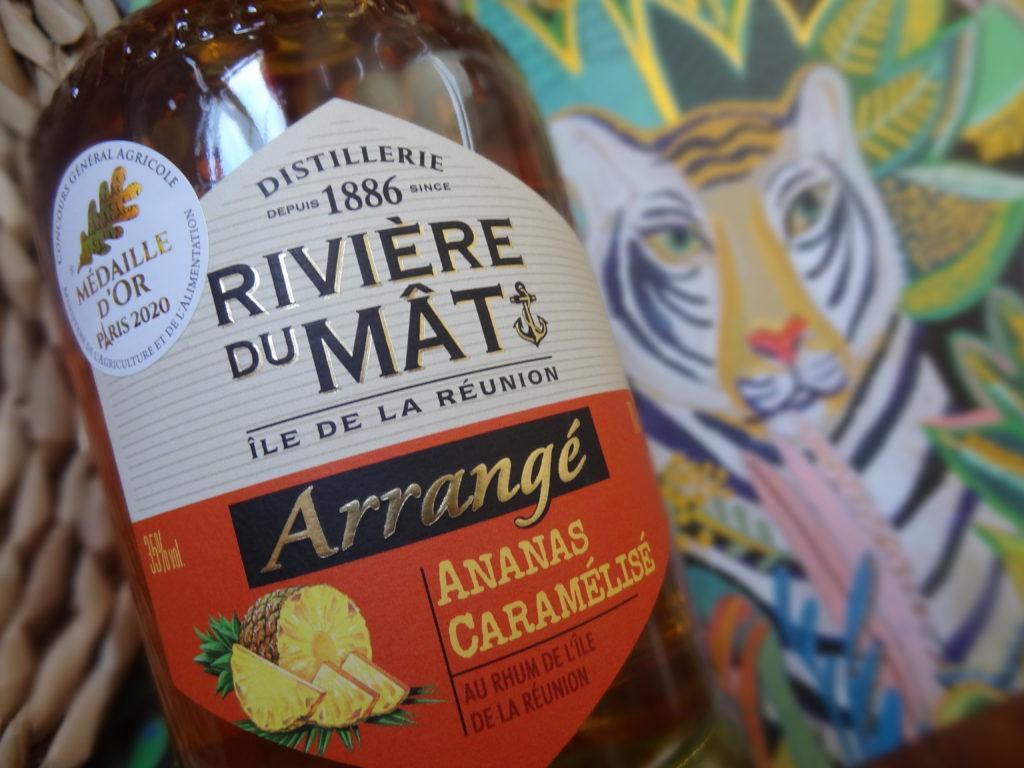 Rivière du Mât - Arrangé ananas caramélisé