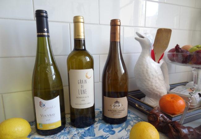 Sélection de vins blancs – accords mets et vins pour les Fêtes