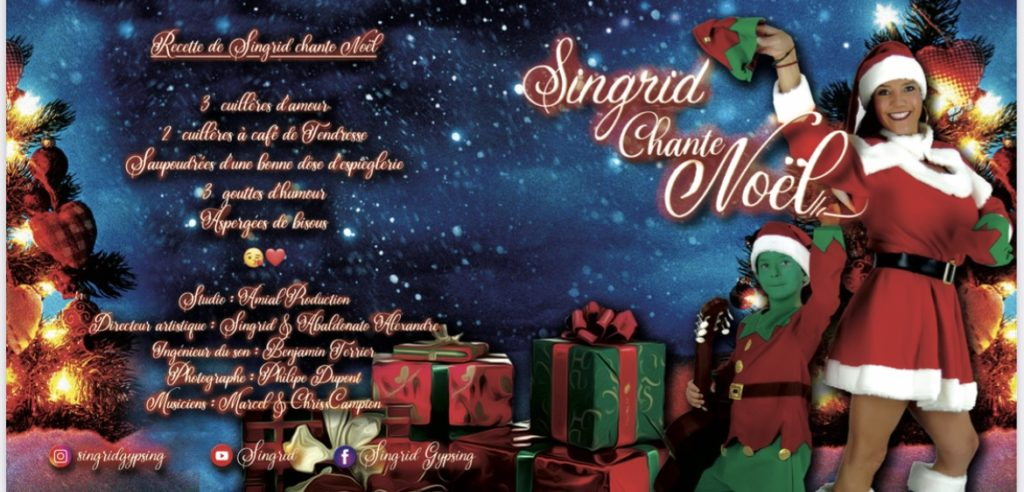Singrid chante Noël - un album festif et joyeux