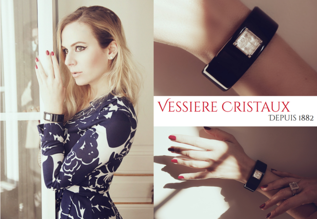 Vessière Cristaux – un bijou Lalique pour la Saint-Valentin – manchette Aréthuse