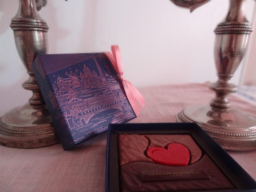 La Maison du Chocolat - Paris à l'heure bleue pour la Saint Valentin