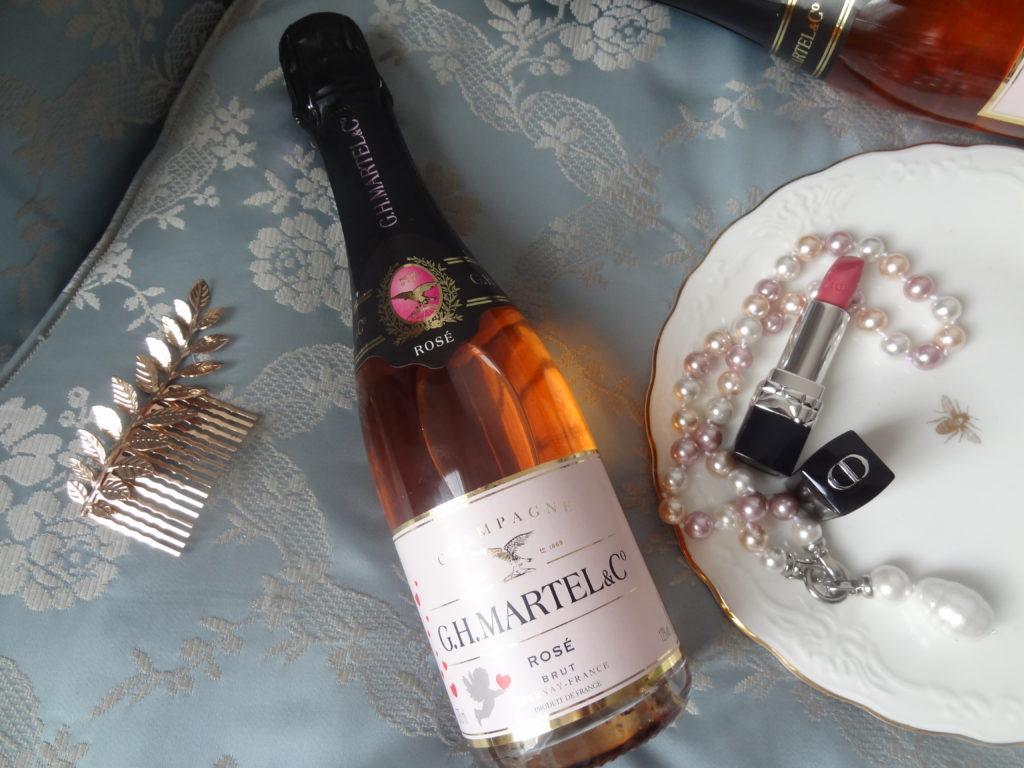 Cupidon by GH Martel - Cuvée brut rosé – un Champagne idéal pour la Saint Valentin