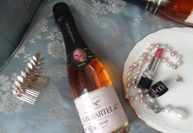 Cupidon by GH Martel – Cuvée brut rosé – un Champagne idéal pour la Saint Valentin